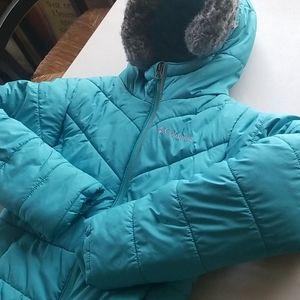 Columbia Turquoise Kids Puffer Jacket